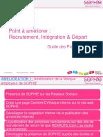 Point d'Amélioration Règles RH - Recrutement, Intégration & Départ DV