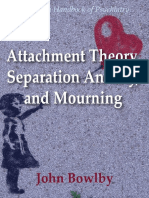 Attachment Theory Separation Anxiety and Mourning