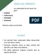Parrafos