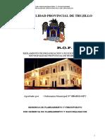 Reglamento de Organización y Funciones-mpt