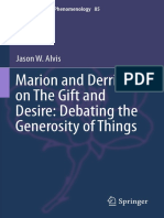 Jason W. Alvis (Auth.)-Marion and Derrida on the Gift and Desire_ Debating the Generosity of Things-Springer International Publishing (2016)