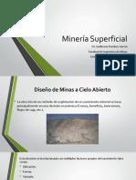 Minería Superficial 1