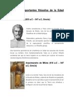 filósofos de la Edad Antigua y moderna $15