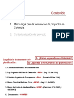 Marco Legalpara Los Proyectos
