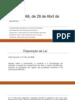 Legislação Do Profissional Biólogo