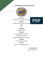 Reporte Visualizacion y Control de Procesos