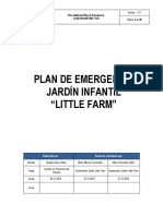 Plan de Emergencia Jardin Infantil Little Farm