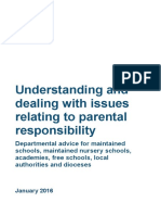 Parental Responsibility Advice for School January 2016