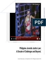 Araceli Habaradas Philippine Juvenile Justice System