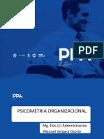 PPT PPA Psicometria Organizacional Arequipa