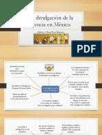 La Divulgación de La Ciencia en México Fes Z