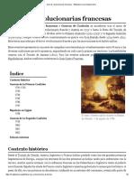 Guerras Revolucionarias Francesas - Wikipedia