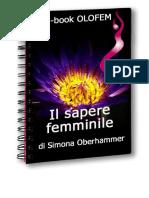 Il Sapere Femminile - Simona Oberhammer