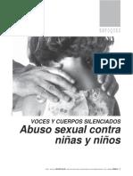 Voces y Cuerpos Silenciados (ASI)