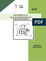 Ingenieria Agronomica 2016