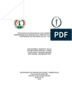 Investigación sobre infecciones mujeres gestantes  - Colombia