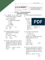 Problemas Propuestos de Analisis Dimensional