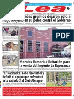 Periódico Lea Jueves 01 de Febrero Del 2018
