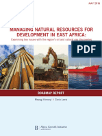 Managing Natural Resources for Development in East Africa