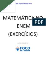 Apostila Matemática Enem