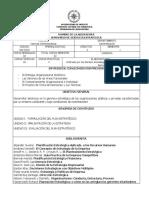 Seminario de Gerencia Estratégical. Unificado PDF