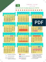 Calendario Saeta 2017-2018