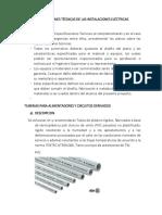 Especificaciones Técnicas de Las Instalaciones Eléctricas1