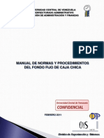 Manual Fondo Fijo de Caja Chica1