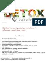 Detox Dos Sonhos