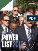 The 2016 PolitickerNJ Power List