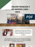 Presentacion Intervencion Francesa, 2do Imperio