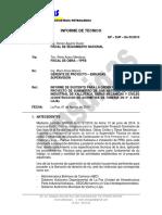 Informe Orden de Trabajo n 2