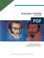 Bolivar y Petion 13 Cartas