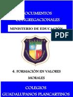 Formación en Valores Morales