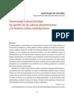 Cimarronaje y Afrocentricidad Los Aportes de Las Culturas Afroamericanas a La América Latina Contemporánea