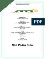 Consumo de Energía SPS%2c Villanueva y Choloma