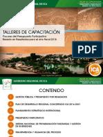 Talleres Capacitacion Ppbr 2018