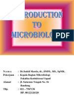 1. Introduction to Microbiology (SM)