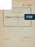 Regulamento de Uniformes Do Pessoal Do Exercito (RUPE)