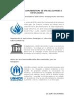 FUNCIONES Y CARACTERISTICAS DE ORGANIZACIONDES E INSTITUCIONES.docx
