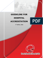 3.1_11_ Guidelines for Hospital Accreditation 3rd Edition