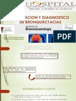 Valoracion y Diagnostico de Bronquiectacias