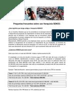 SENCE Preguntas Frecuentes Sobre Uso Franquicia (23!06!2015)