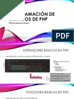 Programación de Codigos de Php