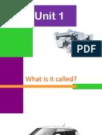 Technical English vocabulary presentation