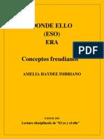 Donde Ello (Eso) Era - Amelia Haydée Imbriano