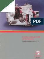 Cuaderno Didactico No.79 - Cambio Manual 6 Marchas Seat