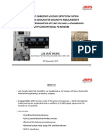 Online PD Measurement Using Embedded VDS for 22kV GIS