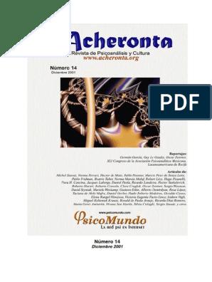 Acheronta14pdf Psicoanálisis Jacques Lacan
