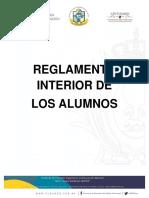 Reglamento Interior de Los Alumnos